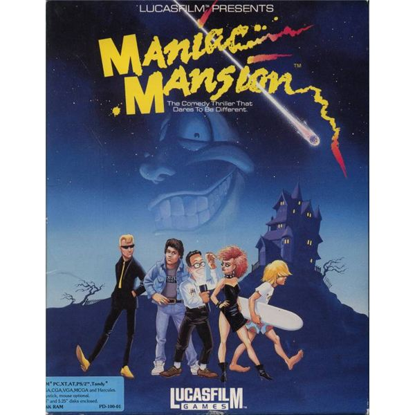 maniacmansion